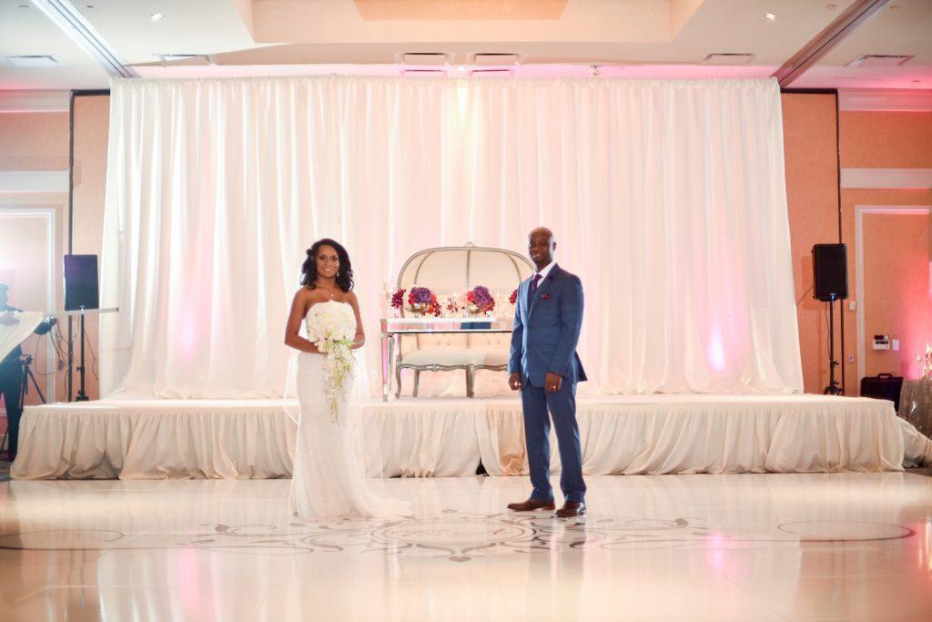 Tracy and Yinka Real Wedding