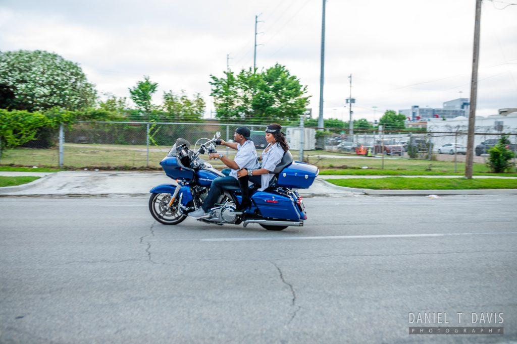 Driving-motorcycle-Engagement-Danielle-Michael-Doyin-Fash