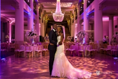 couple in ballroom